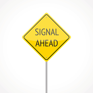 Signal Ahead road sign