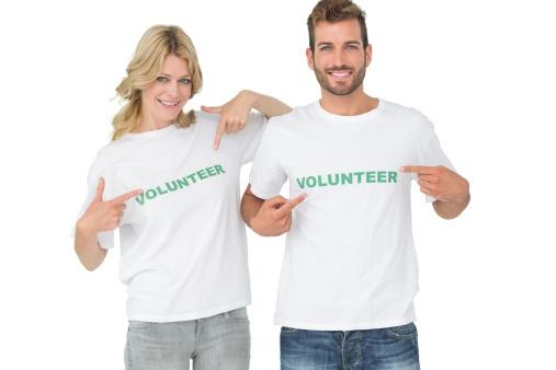 man_and_woman_wearing_volunteer_shirt