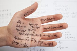 cheat sheet - writing on hand