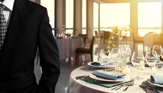 business event table setting