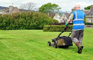 landscape maintenance worker